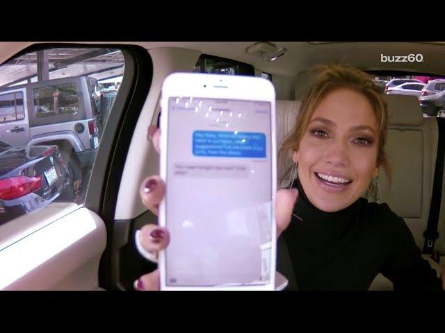 Leonardo DiCaprio texting Jennifer Lopez during 'Carpool Karaoke' makes it the best one yet