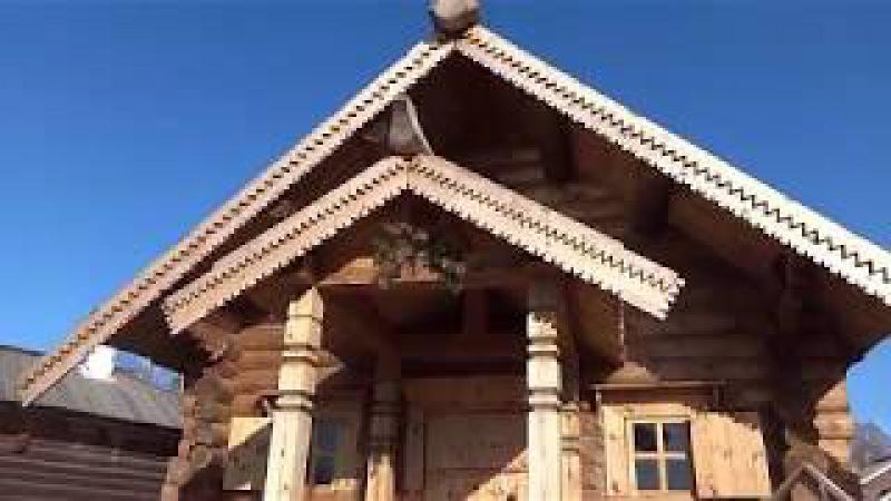 Архитектурно-этнографический музей Тальцы, осенняя прогулка