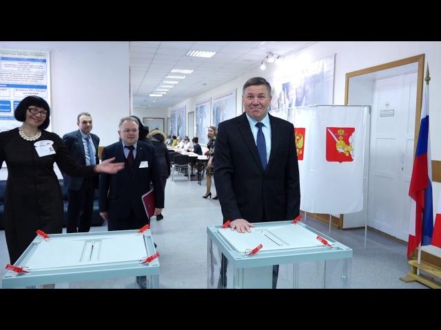 Глава региона Олег Кувшинников контролирует ход избирательной кампании на Вологодчине