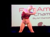 Pole dance championship Argentina panamerican showcase