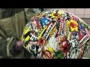 Шлем аквапринт При помощи аквапечати делаем оригинальный модный подарочный шлем