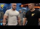 Тренировка груди на длительном отдыхе. Александр Ларьков и Павел Баранов.