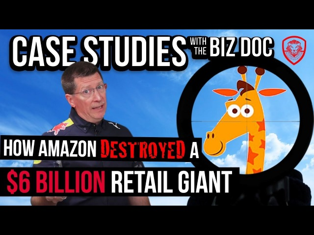 На английском - How Amazon Destroyed a $6 Billion Retail Giant - A Case Study for Entrepreneurs