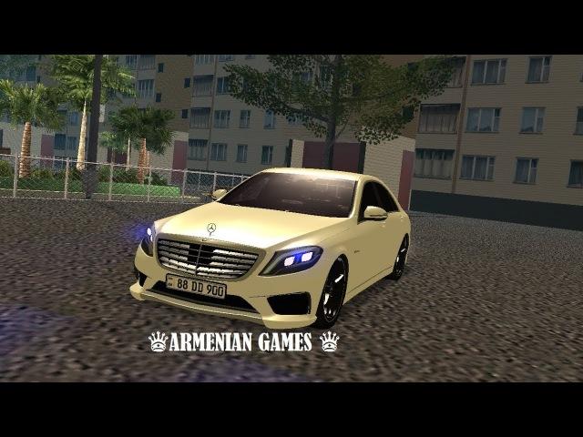 Mercedes Benz S65 Armenian (MTA Vladikavkaz)