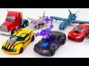 Transformers PRIME Terrdrcon Bumblebee Optimus Prime Soundwave Starscream Knockout Robot Car Toys