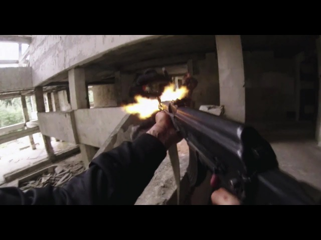 Hardcore Henry Building Shootout Scene 1080p