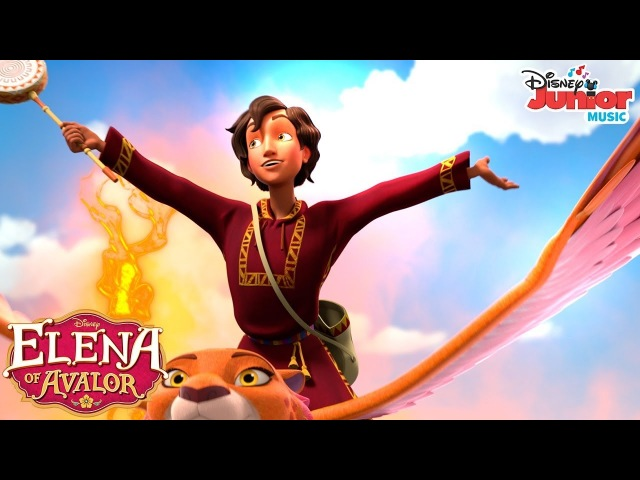 The Wisest Wizard in the World | Music Video | Elena of Avalor | Disney Junior
