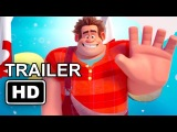 WRECK-IT RALPH 2 Official Trailer #1 Sneak Peek [HD] Kristen Bell, Mandy Moore, Alan Tudyk