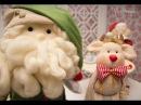 Papai Noel com Vivi Prado
