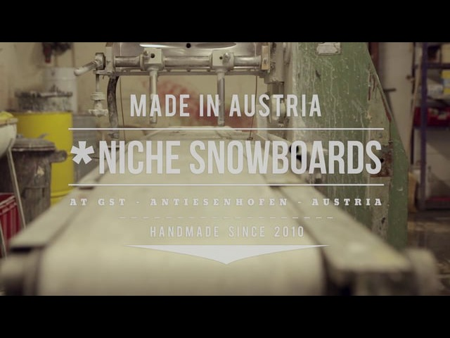 Niche Snowboards Made in Austria