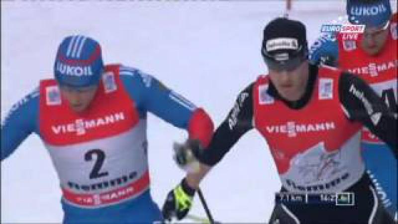 Лыжные гонки Тур де Ски Финал Сезон 20122013 Подъем на Альпе Чермис Гонка преследования, свобод