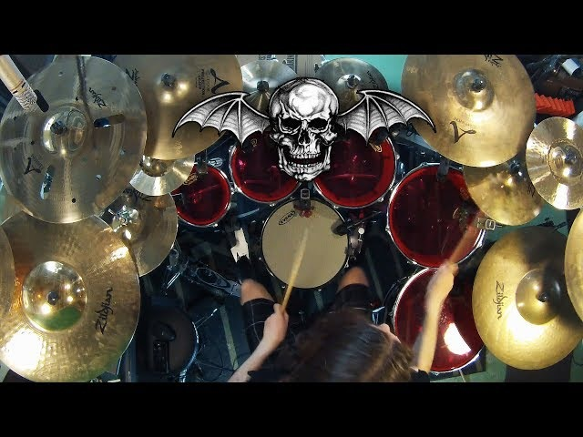 Avenged Sevenfold with death metal drumming