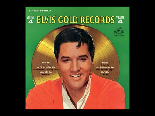 Elvis Presley-Elvis' Gold Records Vol.4 c 1968 Warm LP Sound Version