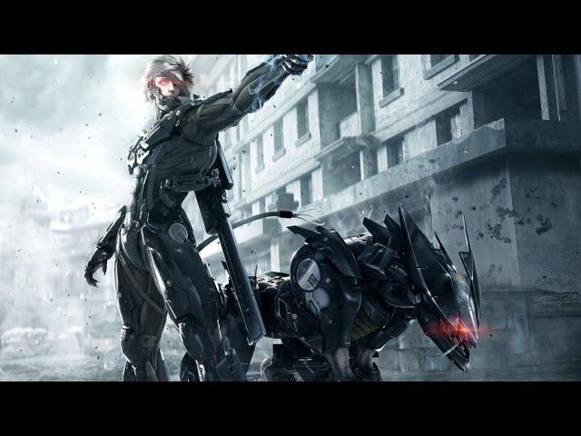 Metal Gear Rising Revengeance : глава 4 ( с комментариями )