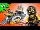 Lego Ninjago Movie: MANTA RAY BOMBER 70609 Speed Build