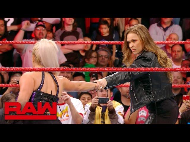 Сегмент Ронды Раузи и Даны Брук, RAW 19.03.2018
