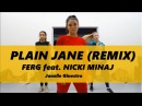 Plain Jane Remix Asap Ferg ft Nicki Minaj Janelle Ginestra choreography