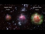 Laserdance - Cosmic Revanche (NASA Flight Through Orion Nebula)