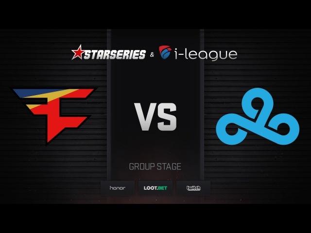 FaZe vs Cloud9, map 2 inferno, StarSeries i-League Season 4 Finals