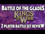 Kings of War 2 Player Starter Box Review Mantic Games The Battle of the Glades -