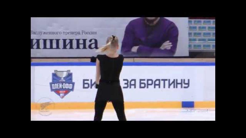 Дарья Николаева ШФК Елены Бережной КП