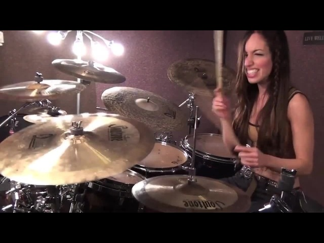 DROWNING POOL - BODIES - DRUM COVER BY MEYTAL COHEN coub