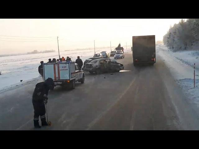 Смертельная авария под Тюменью