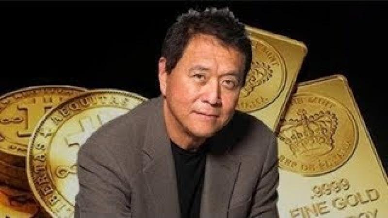 Роберт Кийосаки о золоте, биткойне, фиатных деньгах и их будущем