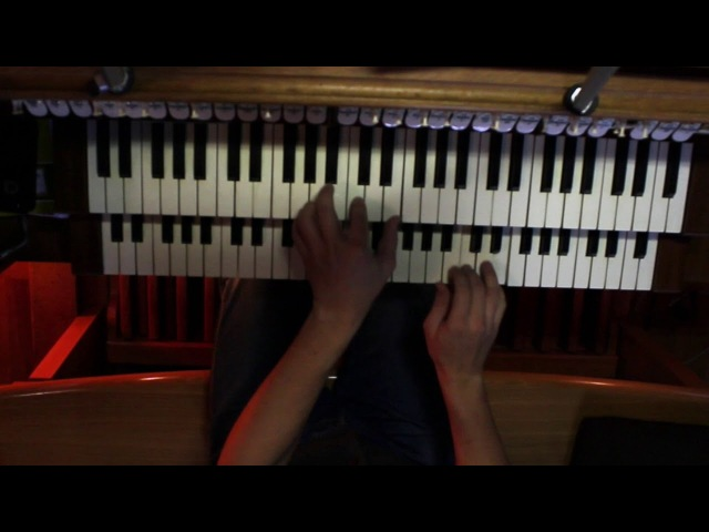 When Johnny Comes Marching Home Again On Pipe Organ - NEW VERSION !