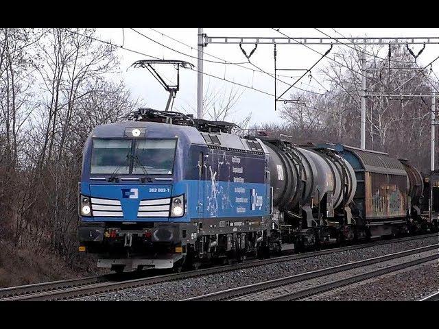 Vlaky Rostoklaty 11.2.2018 (4K)