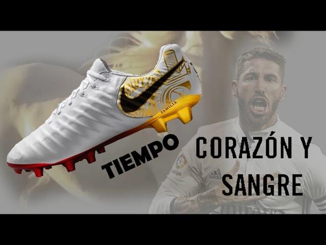Новые бутсы Серхио Рамоса Nike Tiempo 7 Corazón 2018!