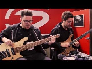 NAMM 2018 | Plini & Simon Grove Live At The Dunlop Booth