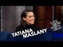 Tatiana Maslany And Stephen Both Love 'Jesus Christ Superstar' 23.09.2017