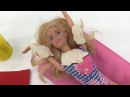 Барби загорает на солнце. Играем в куклы с каналом Мамы и Дочки