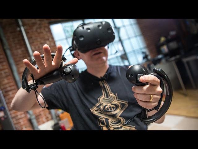 Детальный взгляд на кулачные VR-контроллеры Valve Издание Tested совместно с FOO VR провело 25-минутную сессию знакомства с новым поколением VR-контроллеров Valve. Это не продукт HTC, а полностью собственная разработка Valve — поистине шаг впе