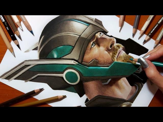 Speed Drawing: Thor   Jasmina Susak
