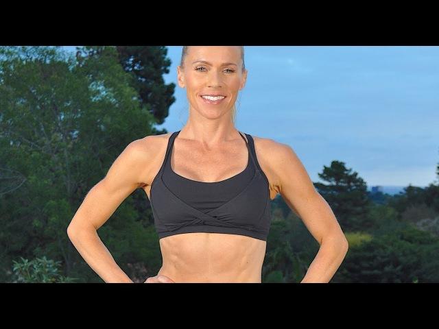 18 минутная жиросжигающая кардио тренировка ВИИТ с гантелями Кардио тренировка с весом для сжигания жира 18 Min Cardio Fat Blasting HIIT Workout with Weights Weighted Cardio Workout For Fat Burning