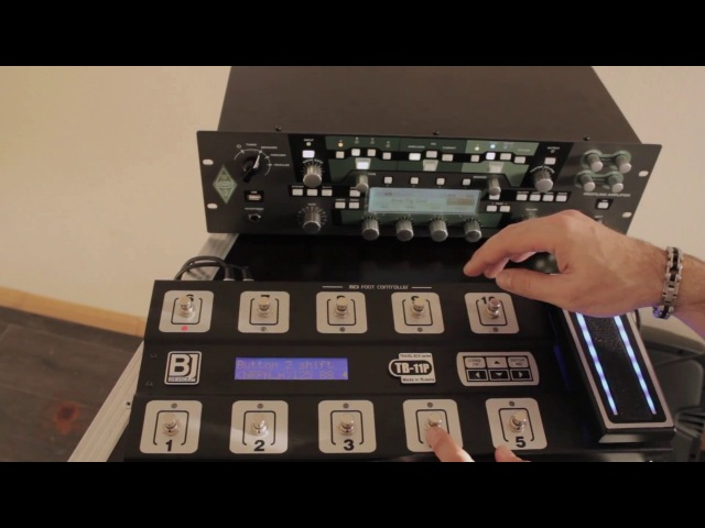 BJ Devices TB-11P with Kemper Profiling Amplifier(KPA). Review by Serg Digin