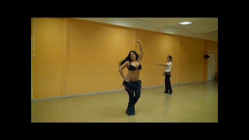 Урок 8 Танец живота восточные танцы арабский танец Школа танцев Экспромт СПб