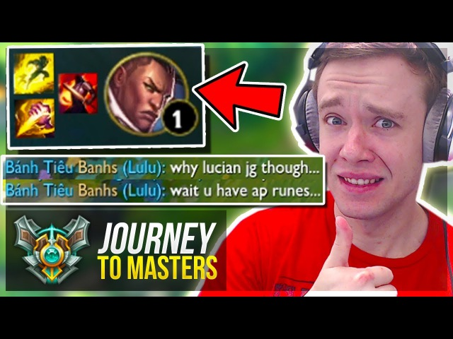 THESE ARE THE KIND OF GAMES I LOVE! - Journey To Masters | League of Legends
