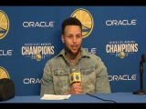 Stephen Curry Postgame Interview / GS Warriors vs Timberwolves / Jan 25