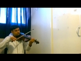 On The Beach, Queen of the Damned - vampire Lestat violin solo cover by Karthik