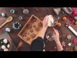 Как приготовить и украсить имбирное печенье