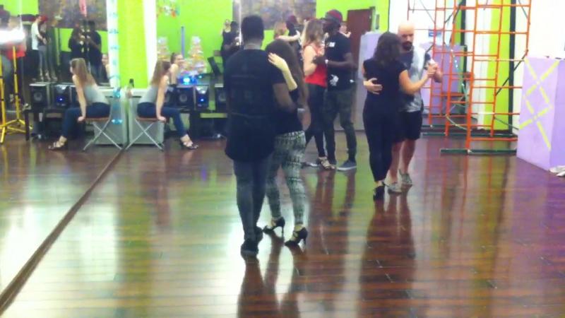 Кизомба с Аладже в Ritmo Dance