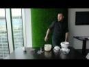 Лаймовый сорбет в мороженице Kenwood IM280- мастер-класс Ильи Саприна