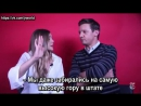 New York Times Live QA with Elizabeth Olsen and Jeremy Renner (рус. суб.)