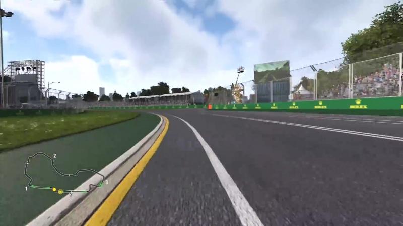 Круг по Альберт-парку вместе с Force India