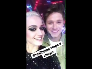 Niall in @katyperry's Instagram story (July 2nd)