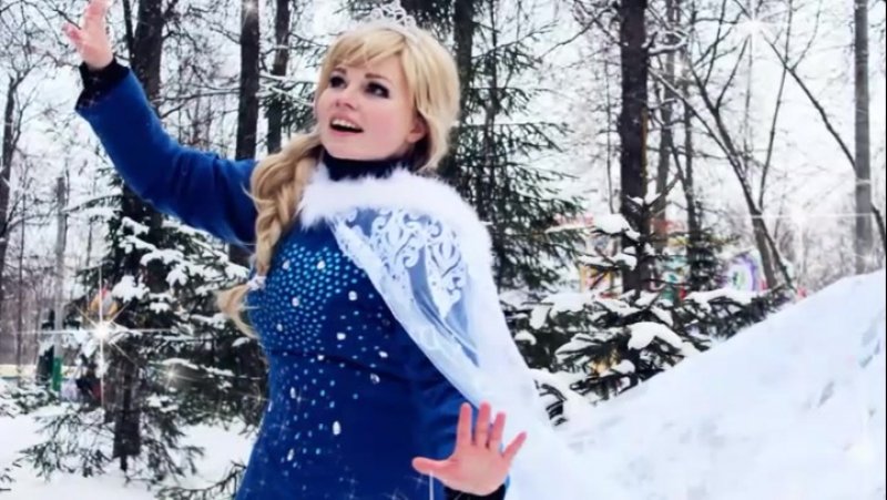 Отпусти и Забудь Татьяна Шереметьева cover фрагмент из Песни Эльзы из мюзикла Холодное сердце