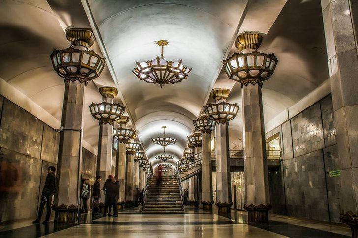 Великолепие Ташкентского метро